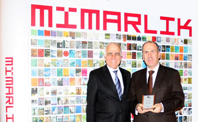 Mimarlar Odası Genel Sekreteri Necip Mutlu, Bülend Tuna