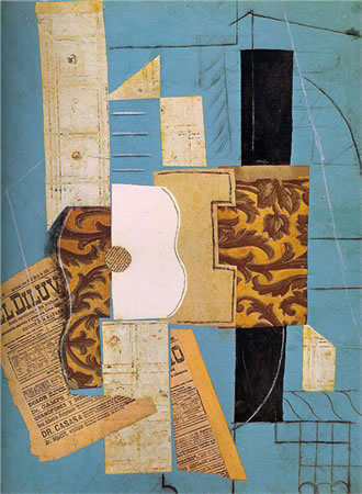 1. Pablo Picasso, Gitar, 1913. (Kaynak: URL1)