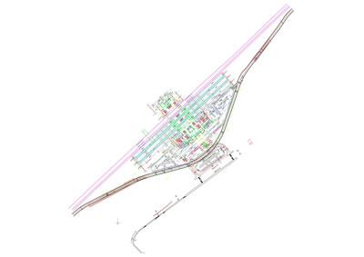 <p><strong>17a.</strong> Selçuklu YHT Garı vaziyet planı ve  kesitleri<br /> Kaynak: TCDD, 2021</p>