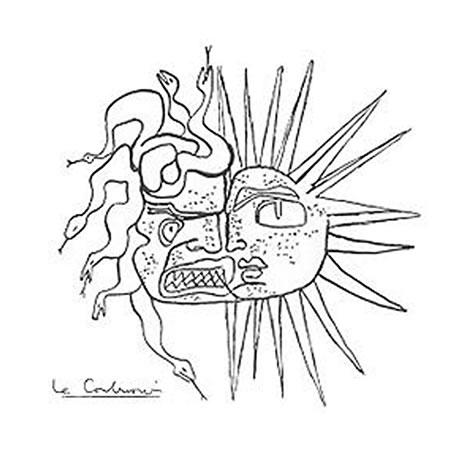 1. Le Corbusier'nin güneşin iki yüzü çizimi