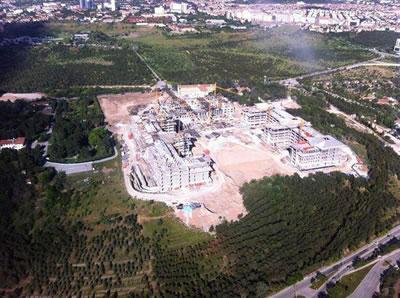 Atatürk Orman Çiftliği'nde inşaatı devam eden Başbakanlık Konutu