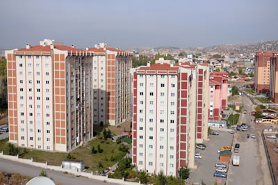 Türkiye'nin çeşitli kentlerdeki TOKİ toplu konut üretimlerinden örnekler. Ankara Mamak (www.mamak.bel.tr)