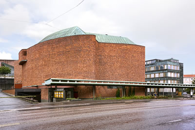 <p><strong>1.</strong> House of Culture, Alvar Aalto, 1958.</p>