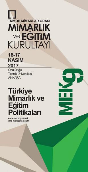 <p><strong>1a.</strong> &ldquo;Türkiye Mimarlık  ve Eğitim Politikaları&rdquo; temasıyla gerçekleştirilen 9. Mimarlık ve Eğitim  Kurultayı afişi ve oturumdan bir kare</p>
