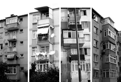 <p><strong>1b.</strong>Tozkoparan  Mahallesinde yapıların dönüşümü<br />   Fotoğraflar: Şebnem Şoher</p>