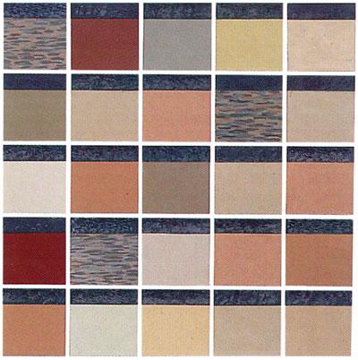 <strong>Resim 2b. </strong>Lenclos'un  Avrupa'da Gerçekleştirdiği Renk Analizi Çalışmalarından Görsel Örnekler</p>
