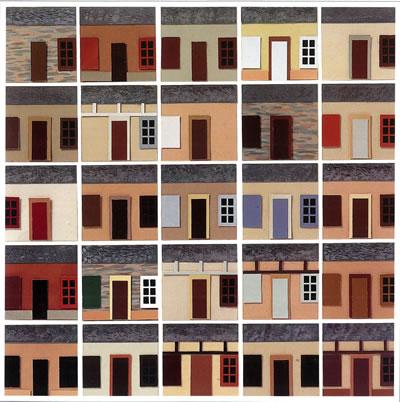 <strong>Resim 2c. </strong>Lenclos'un  Avrupa'da Gerçekleştirdiği Renk Analizi Çalışmalarından Görsel Örnekler</p>