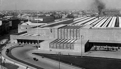 20. Santa Maria Novella İstasyonu (Fotoğraf: Ferdinando Barsotti, RIBA Koleksiyonu, URL3)