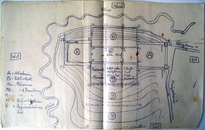 <p><strong>2. </strong>Akademi,  Kütüphane, &ldquo;Representation&rdquo; ve Müze Yapıları<br />Kaynak: Edhem Eldem Arşivi</p>