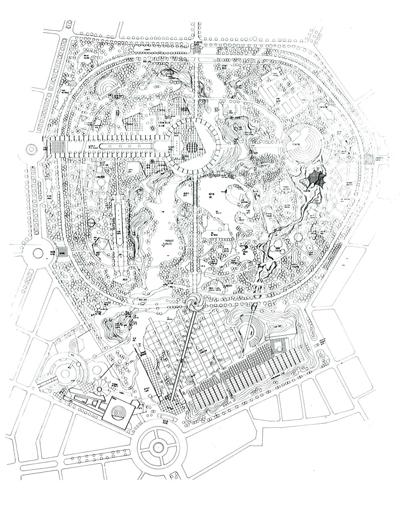 """<p><strong>2. </strong>İzmir Kültürpark Projesi, Mimarlar: Merih Karaaslan,  Mürşit Günday ve Şükrü Kocagöz, (Kaynak: Öztan, Yüksel, 1993, """"İzmir Kültürpark"""", <strong>Mimarlık</strong>, sayı:254, s.40)</p>"""