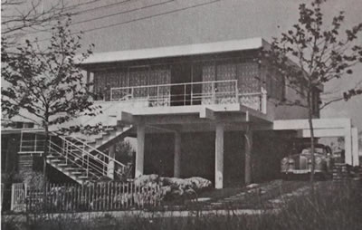 """<p><strong>21. </strong>1960 lı yıllarda Y.Mim. Peykân Dalbaşar tarafından tasarlanan  """"Dalbaşar Villası""""<br /> Kaynak: Darıca Belediyesi Arşivi.</p>"""