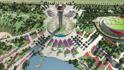 <p>Expo 2016 Antalya yerleşim planı</p>