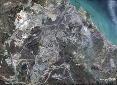 <p><strong>2. </strong>İstanbul 3. Havaalanı projesinin olduğu alanın hava fotoğrafı, 08.11.2015<br />  Kaynak: Google Earth</p>