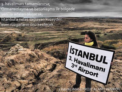 <p><strong>2. </strong>KOS: İstanbul&rsquo;a nefes sağlayan kuzeyden esen rüzgarların  önü kesilecek. <br />  Kaynak: KOS Medya </p>