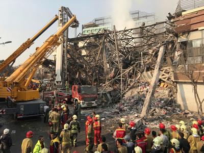 <p><strong>2. </strong>Tarhan  Plasco binası çökme sonrası, 19 Ocak 2017</p>