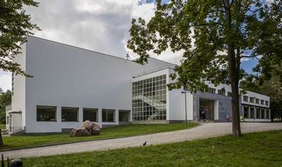 <p><strong>2.</strong> Vyborg  Library, Alvar Aalto, 1935.</p>