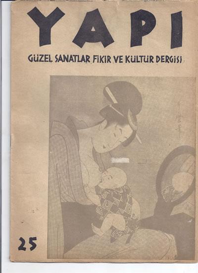 <p><strong>2.  Yapı</strong>,  1942, sayı:25.</p>