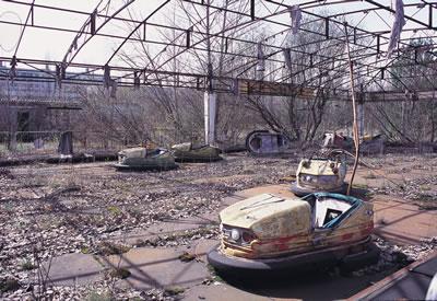<p><strong>Resim 2. </strong>Türkiyeyi de etkileyen Çernobil kazası sonrasında,  santrale 7 km uzaklıkta bulunan Ukrayna Pripyat şehrinden bir kare</p>