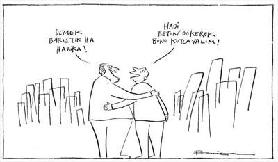 <p><strong>Resim 2.</strong> Behiç Ak tarafından  çizilen bir karikatür <br />Kaynak: https://kentstratejileri.com/2017/10/14/kente-dair-karikaturler-cizgiler/