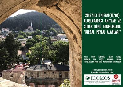 <p><strong>2. </strong>2019 yılı Uluslararası Anıtlar ve Sitler Günü Çanakkale Etkinliği  Posteri<br />Kaynak: http://www.icomos.org.tr/Dosyalar/ICOMOSTR_tr0836651001555140300.jpg