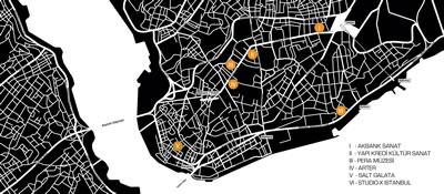 <p><strong>2.</strong> 4. İstanbul Tasarım Bienali sergi  mekânları<br />   Kaynak: 4. İstanbul  Tasarım Bienali Medya Dökümanları, iksvphoto.com/#/album/d53f1v/photo/52734026</p>