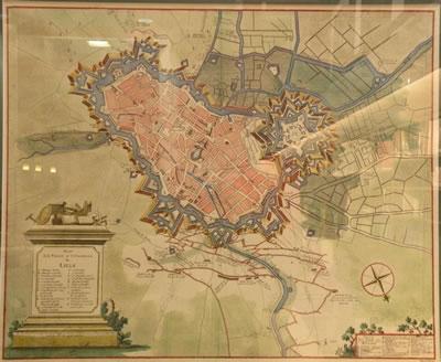 <p><strong>2.</strong> Lille kentinin  Sébastien Le Prestre de Vauban tarafından yapılan surları<strong></strong></p>