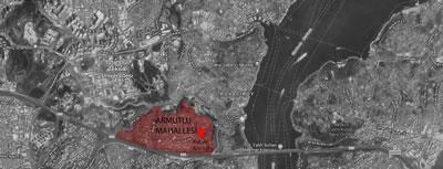 <p><strong>2.</strong> Mahallenin İstanbul ili Sarıyer ilçesindeki konumu</p>
