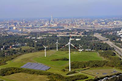 2. Hamburg enerji tepesi (Kaynak: Aufwind-Luftbilder.de, 2010)