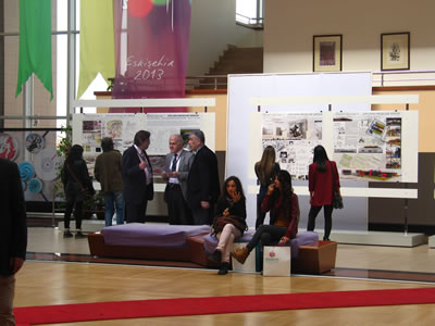 Fuayedeki Diploma Projeleri Sergisi
