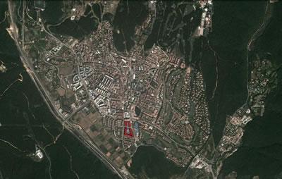 2. Göktürk Yerleşimi ve Arketip Konutları (Kaynak: Google Earth)