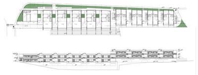 2. Reefloft kat planı ve siluet. (Kaynak: Boran Ekinci Mimarlık)