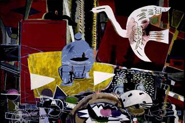2. Georges Braque, StüdyoVII, 1954. (Kaynak: URL1)