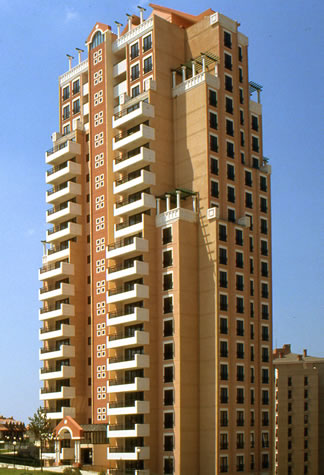 Bahçeşehir Uydu Kenti (Kaynak: Manço Mimarlık Arşivi)