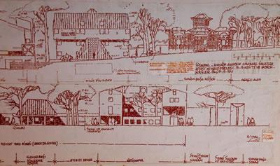 <p><strong>2.</strong> Anadolu  Güzel Sanatlar Meslek Lisesi cephe çizimleri, Erenköy, 1995.<br />  Kaynak: MSGSU Mimarlık  Fakültesi Mimarlık Bölümü Mekân Organizasyonu ve Donatımı Bilim Dalı Arşivi</p>