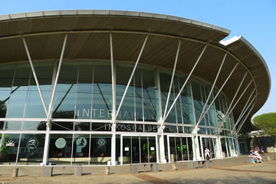 <p>Durban Uluslararası  Kongre Merkezi (ICC)<strong></strong><br />Fotoğraf: Şengül Öymen Gür</p>