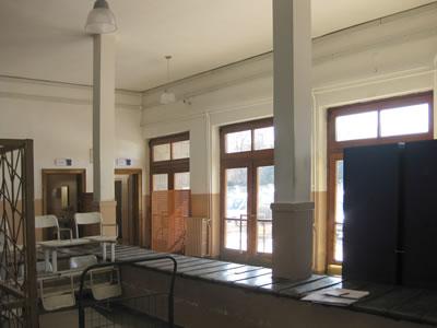 28. Ali Çetinkaya İstasyonu müze ve bavul bölümü.