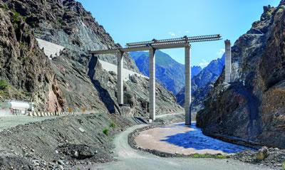 <p>Yusufeli Baraj inşaatı, Artvin.</p>