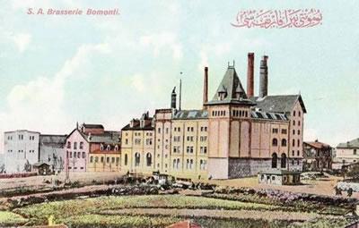 <p><strong>2a. </strong>Bomonti Bira  Fabrikasını Gösteren Kartpostallar<br />Kaynak: Salt Araştırma, https://archives.saltresearch.org/handle/123456789/119261