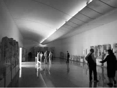 <p><strong>2b. </strong>2007 yılında tamamlanan<strong> </strong>Afrodisias Ek Müzesi, Cengiz Bektaş  Mimarlık İşliği<strong></strong><br /> Kaynak: Yazar arşivi</p>