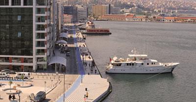 <p><strong>2b. </strong>İzmirde  Konak-Karataş ve Pasaport bölgesi kıyı düzenlemesi örnekleri<strong></strong><br />