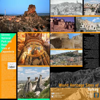 <p><strong>2b.</strong> Türkiyenin Dünya Miras Alanlarını  gösteren paftalardan seçkiler</p>