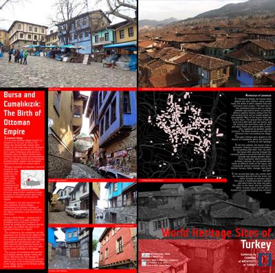<p><strong>2c.</strong> Türkiyenin Dünya Miras Alanlarını  gösteren paftalardan seçkiler</p>