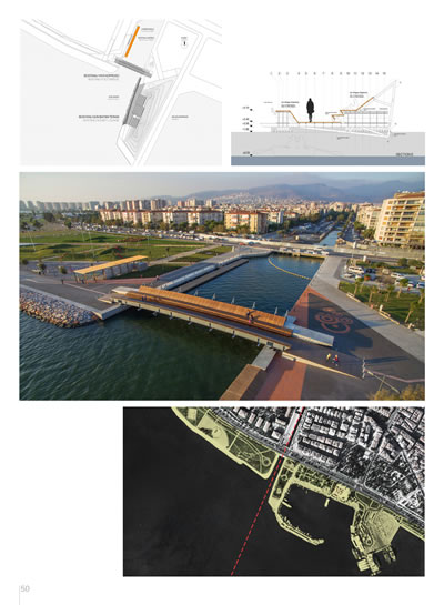 <p><strong>2e.</strong> Ödül alan projelerin olduğu sayfalardan  bir örnek, sayfa 24, 25 ve 48-51.</p>
