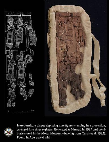 <p><strong>2f. </strong>Abu Sayyaf'ın  arşivinde bulunan tarihî eserler<br />  Kaynak: URL1.</p>