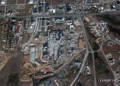 <p>Bilkent Şehir Hastanesi hava  fotoğrafı, 19.12.2015</p>