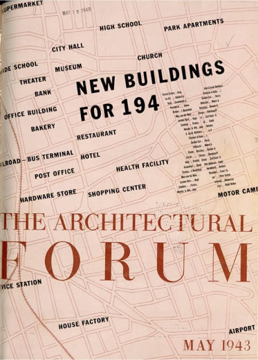 <p><strong>3. Architectural Forum</strong>,  1943</p>