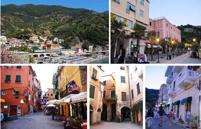 <p><strong>3. </strong>Monterosso kasabasına (eski  yerleşime) ait yere özgü durumlar </p>