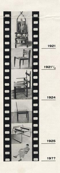 <p><strong>3.</strong>Bir Bauhaus  Filmi kolajı, Marcel Breuer, 1926,<strong></strong><em><strong>Bauhaus: Zeitschrift für  Gestaltung</strong></em>, cilt:1, sayı:1. Bauhaus-Archiv Berlin,©Thomas  Breuer <br />   Kaynak:  bauhaus100.de </p>