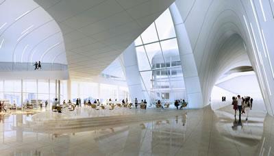 <p><strong>3.</strong> Zaha Hadid tarafından tasarlanmış Haydar Aliyev  Merkezi etkinliklere ev sahipliği yaptı.</p>