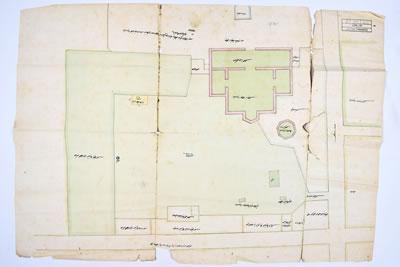 <p><strong>3.</strong> 1885 Tarihli Vaziyet Planı Çizimi</p>